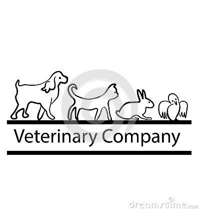 Veterinary company logo