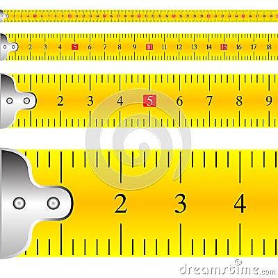 Vetor de medição do foco da fita