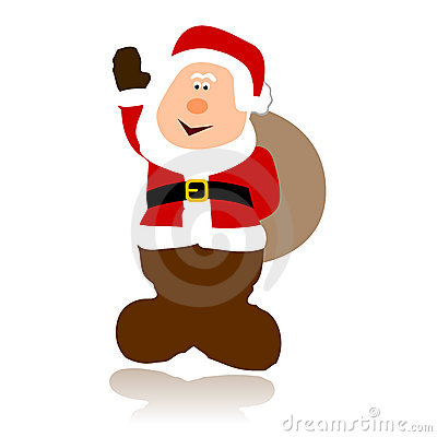 Vetor Papai Noel simples