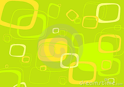 Vetor verde, amarelo do retângulo