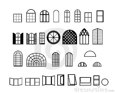 Vetores de Windows