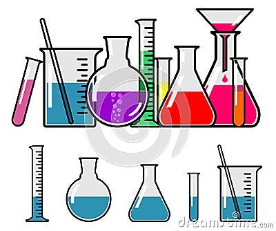 Vetreria per laboratorio