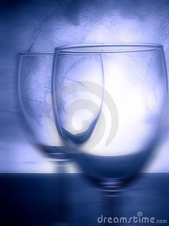 Vetro di vino.