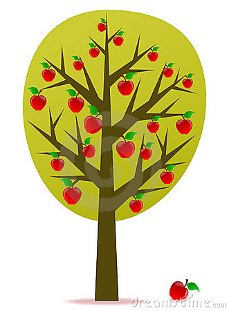 Vettore di melo