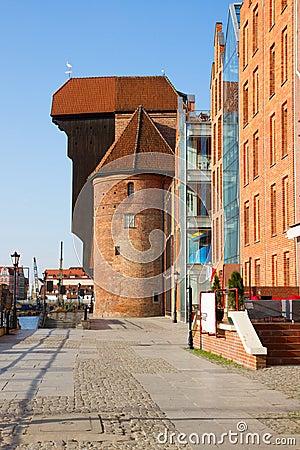 Vew of Zuraw of  Gdansk