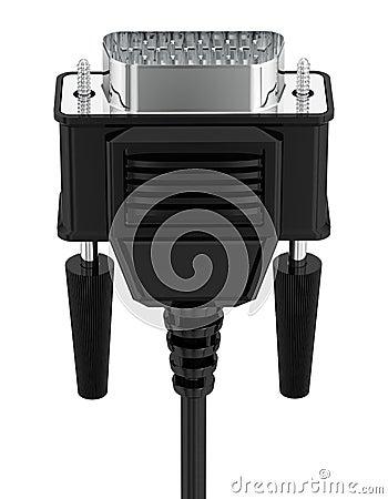 VGA tech input cable.
