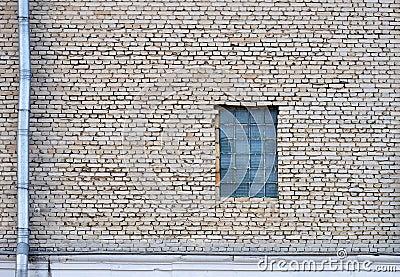 Vägg och fönster
