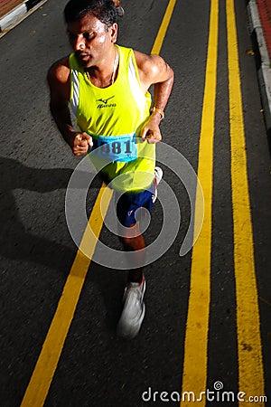 VGO Mount Faber Run 3 Editorial Stock Image
