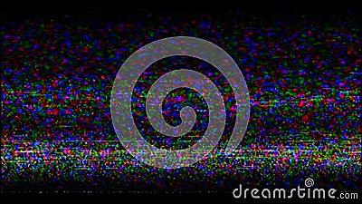 VHS attachent du ruban adhésif à l'écran Enregistrement vidéo banque de vidéos
