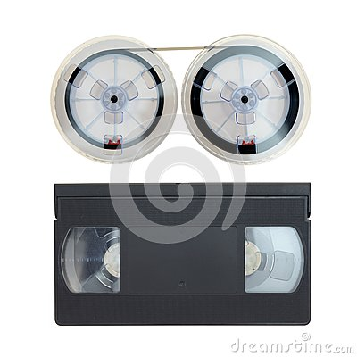 Free VHS Cassette Tape Royalty Free Stock Photos - 44548458