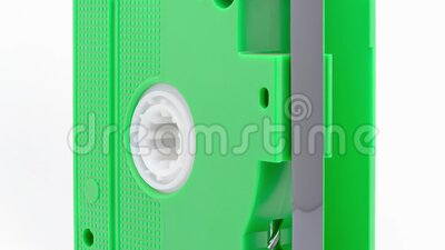 VHS, cassette tape stock footage