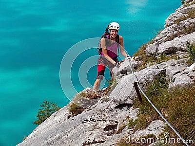 Via Ferrata/ klettersteig climbing