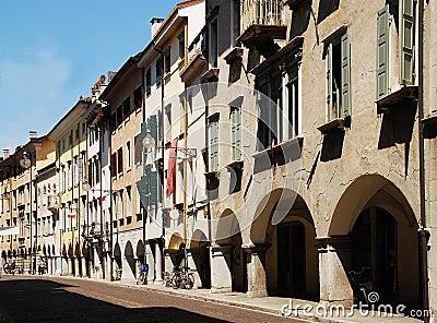 Via Vittorio Veneto, Udine