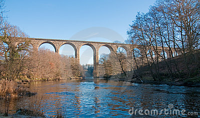 Viaduct over river
