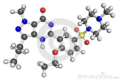 Viagra structure