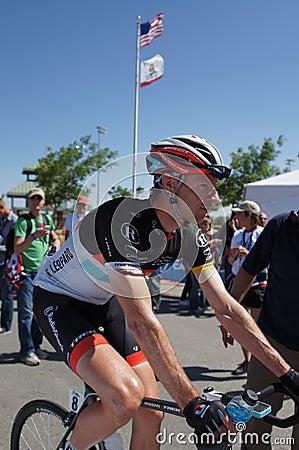 Viaje 2012 de Jens Voigt Amgen de California Foto de archivo editorial