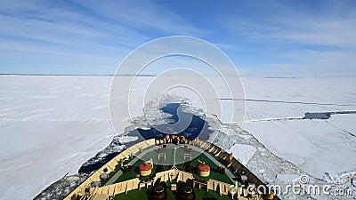 Viaje en el helado, Antártida almacen de video