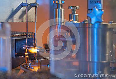 Vial and ampule glass manufacturing