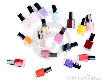 Vials nail polish in bulk