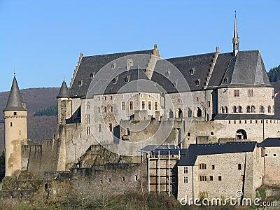 Vianden castle (Luxembourg)