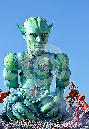 Viareggio Carnival  carnevale Editorial Photography