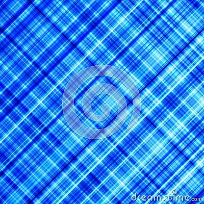 Vibrant blue diagonal lines.