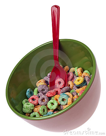 Vibrant Bowl of Breakfast Cereal