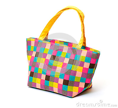 Vibrant Cloth Ladies Handbag