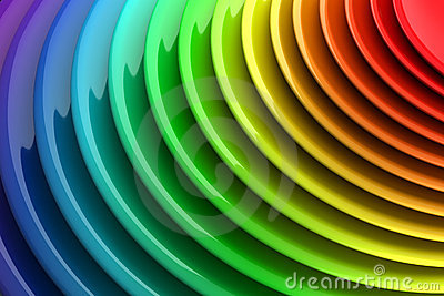 Vibrant color abstract background
