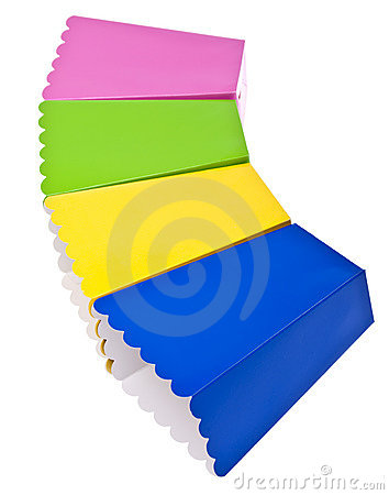 Vibrant Colored Treat Boxes