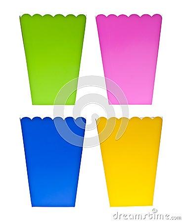 Vibrant Colored Treat Boxes
