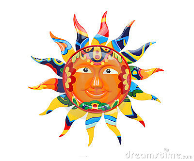 Vibrant Colorful Sun Royalty Free Stock Photography - Image: 18306687
