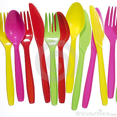 Free Vibrant Forks, Kives, Spoons Stock Photography - 2244012