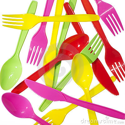 Free Vibrant Forks Kives Spoons Royalty Free Stock Photos - 2244018