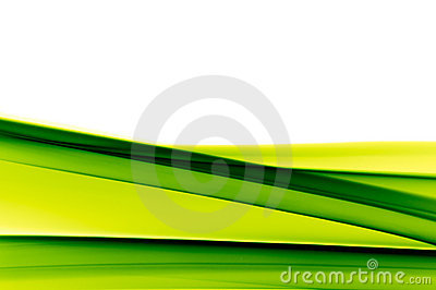Vibrant green background on white