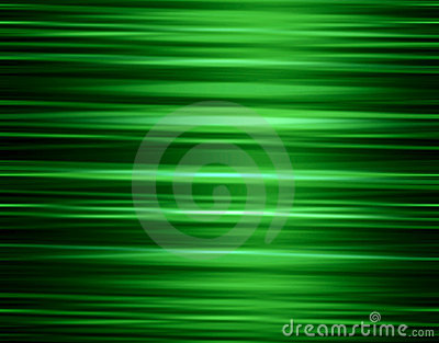 Vibrant green stripes