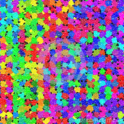 Vibrant mosaic pattern