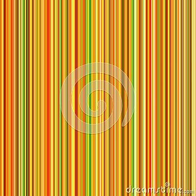 Vibrant orange color lines.
