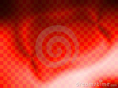 Vibrant Red Check Background wallpaper