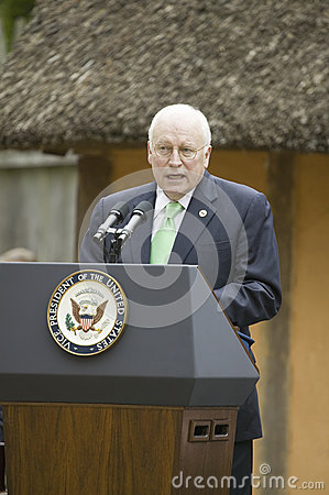 Vice President Dick Cheney Editorial Image