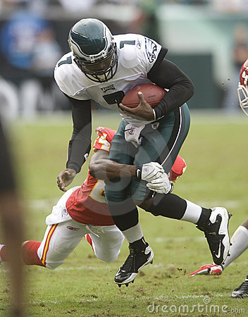 Vick Eagles Editorial Image