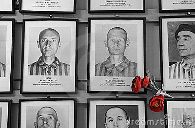 Victims of Auschwitz Editorial Image