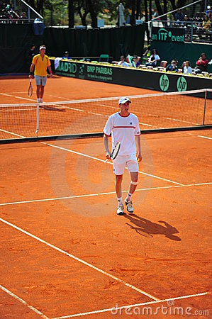 Victor Crivoi-romanian Davis Cup team member Editorial Image