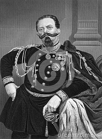 Free Victor Emmanuel II Of Italy Royalty Free Stock Photography - 47769277