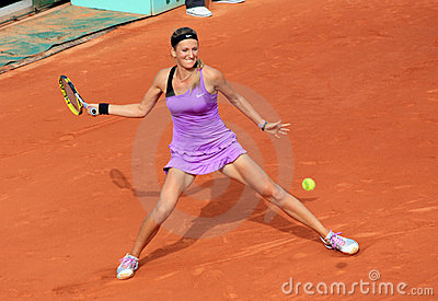 Victoria Azarenka at Roland Garros 2011 Editorial Stock Image
