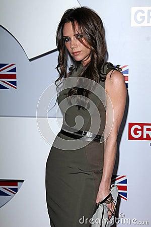 Victoria Beckham Editorial Photo