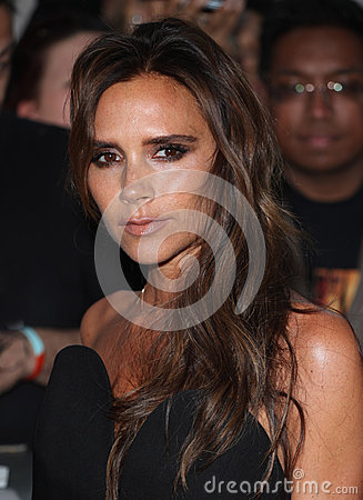 Victoria Beckham Editorial Stock Photo