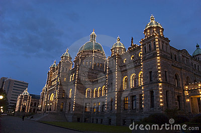 Victoria British Columbia Parliament Building