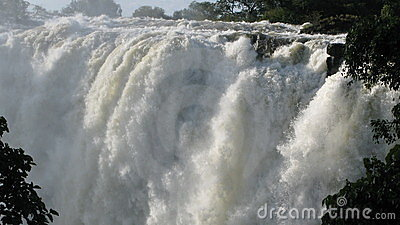 Victoria Falls eastern cataract