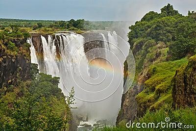 Victoria Falls, Zimbabwe, closeup